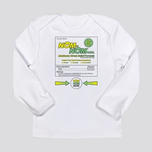 NOM NOM Long Sleeve Infant T-Shirt