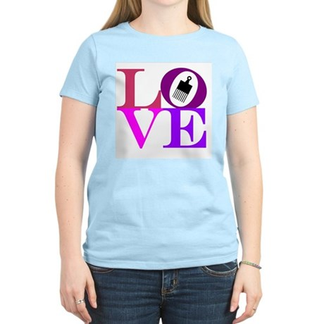 Afro Love Women's Light T-Shirt