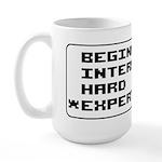Retro 8 Bit Expert Mode Large Mug