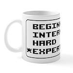 Retro 8 Bit Expert Mode Mug