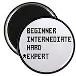 Retro 8 Bit Expert Mode Magnet