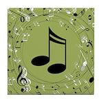Music Teacher Musician Gift Tile Coaster