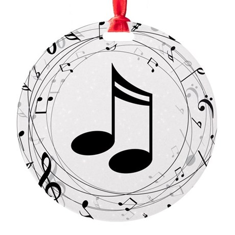 Music Teacher Gift Idea Ornament By Milestonesmusic