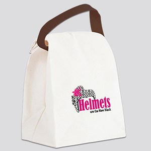 Helmets new bk Canvas Lunch Bag