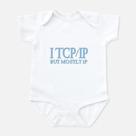 I TCP/IP But Mostly IP Infant Creeper
