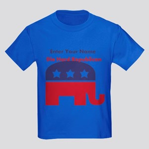Personalize Die Hard Republican Kids Dark T-Shirt