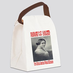 MadameCJ1 Canvas Lunch Bag
