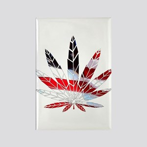 American Weed Rectangle Magnet