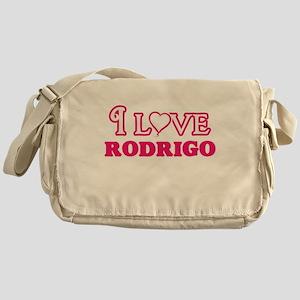 I Love Rodrigo Messenger Bag
