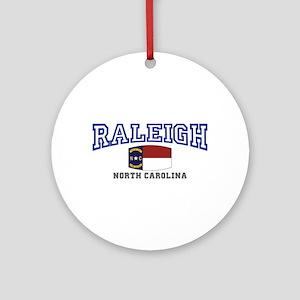 Raleigh, North Carolina, NC USA Ornament (Round)
