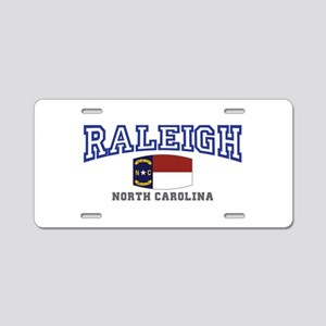 Raleigh, North Carolina, NC USA Aluminum License P