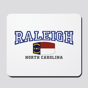 Raleigh, North Carolina, NC USA Mousepad