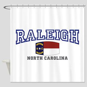 Raleigh, North Carolina, NC USA Shower Curtain