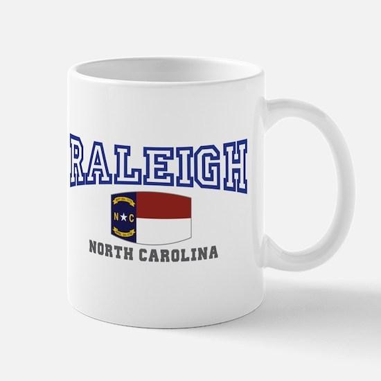 Raleigh, North Carolina, NC USA Mug