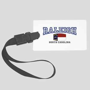 Raleigh, North Carolina, NC USA Large Luggage Tag