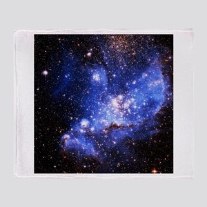 Magellanic Clouds (High Res) Throw Blanket