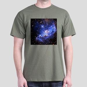 Magellanic Clouds (High Res) Dark T-Shirt