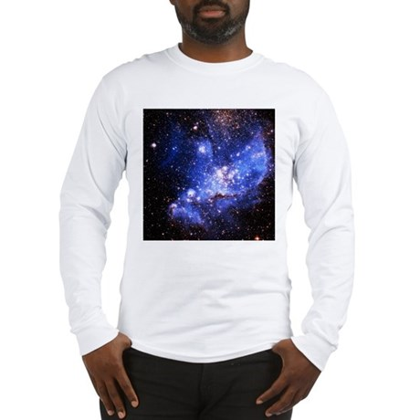 Magellanic Clouds (High Res) Long Sleeve T-Shirt
