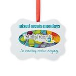Mixed Media Mondays Picture Ornament