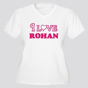 I Love Rohan Plus Size T-Shirt