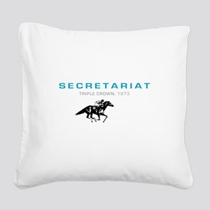 secetariat Square Canvas Pillow