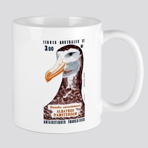 1985 Antarctic Territories Albatross Stamp Mug