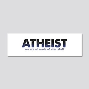 Atheist Star Stuff Car Magnet 10 x 3
