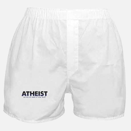 Atheist Star Stuff Boxer Shorts