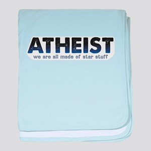 Atheist Star Stuff baby blanket