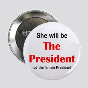 """just president 2.25"""" Button"""