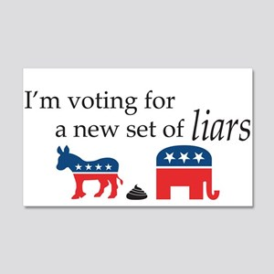 New Set of Liars 20x12 Wall Decal
