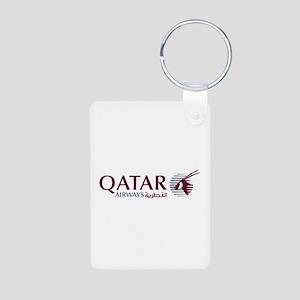 Qatar Airways Aluminum Key Chain