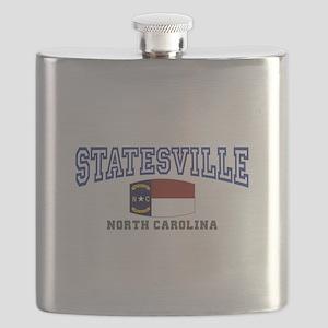 Statesville, North Carolina NC USA Flask