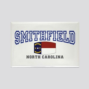 Smithfield, North Carolina NC USA Rectangle Magnet