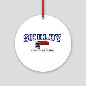 Shelby, North Carolina NC USA Ornament (Round)