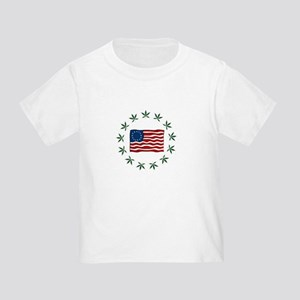 green flag2-forcolor Toddler T-Shirt
