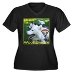 Life With The WooFDriver Women's Plus Size V-Neck