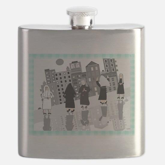 Catholic Nuns Flask