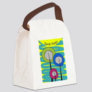 cp social worker 3 Canvas Lunch Bag