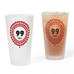 99 Red Balloons Drinking Glass