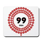 99 Red Balloons Mousepad