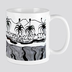 Billabong in B&W Mug