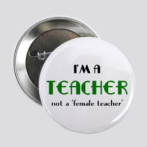 "just teacher 2.25"" Button"
