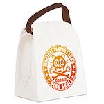 Cat Skull Canvas Lunch Bag