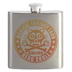 Cat Skull Flask