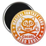 Cat Skull Magnet