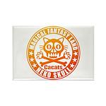Cat Skull Rectangle Magnet (10 pack)