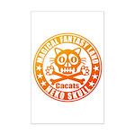 Cat Skull Mini Poster Print