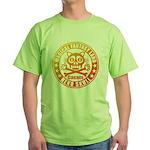 Cat Skull Green T-Shirt