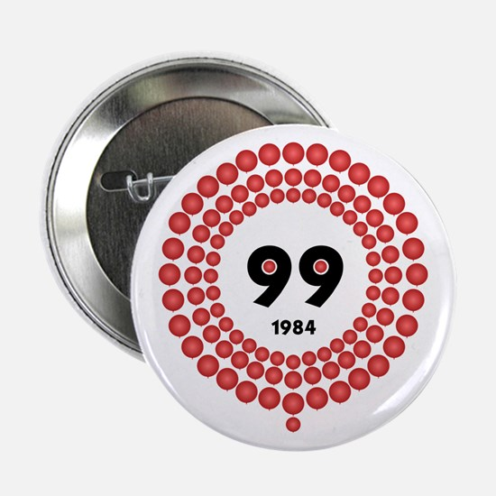 "99 Red Balloons 2.25"" Button"